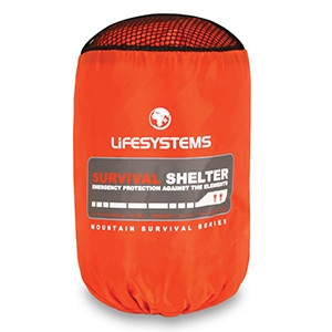 Lifesystems Survival Shelter - Camouflage Store