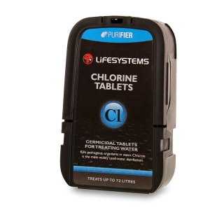 Lifesystems Chlorine Tablets