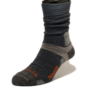 Bridgedale Endurance Trekker Socks (Gunmetal) - Camouflage Store