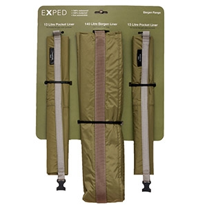 Exped Bergen Liner Pack - Camouflage Store