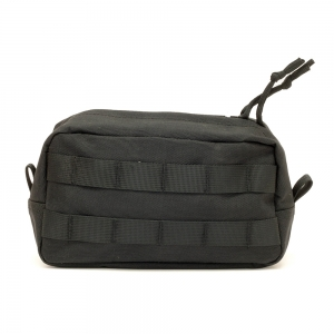 HF Tech Horizontal Utility Pouch (Black) - Camouflage Store