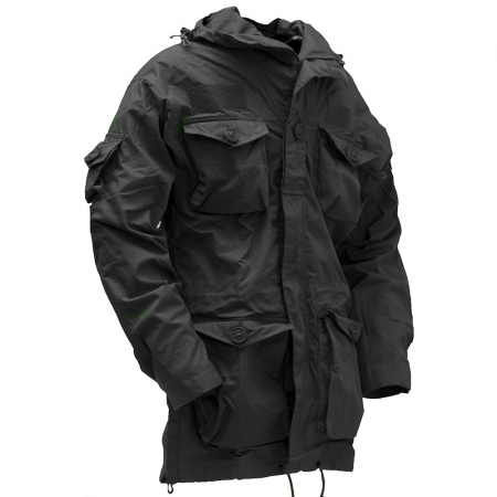 Solo LRP Smock (Black) - Camouflage Store
