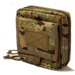 SOLO ATP MOLLE Admin Pouch - Camouflage Store