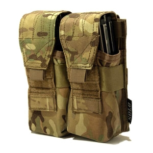 SOLO ATP MOLLE Double Rifle Mag Pouch