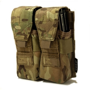 SOLO ATP MOLLE Double Rifle Mag Pouch - Camouflage Store