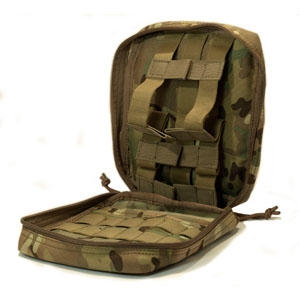 SOLO ATP MOLLE Large Medic Pouch - Camouflage Store