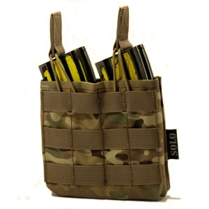 SOLO ATP MOLLE Double Rifle Mag Panel