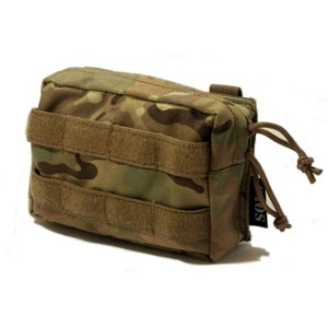 SOLO ATP MOLLE Small Utility Pouch - Camouflage Store