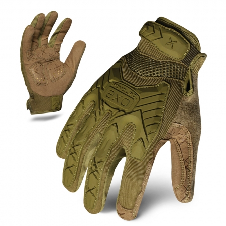 Ironclad Tactical Impact Glove - Olive Green