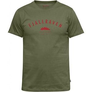 Fjallraven Trekking Equipment T-Shirt (Olive) - Camouflage Store