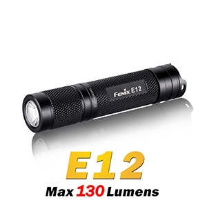 Fenix E12 AA Flashlight - Camouflage Store