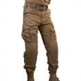 SOLO Enhanced Combat Pant (Tan) - Thumbnail 01<