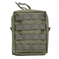 HF Tech Vertical Utility Pouch (Olive) - Thumbnail 01<