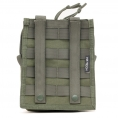 HF Tech Vertical Utility Pouch (Olive) - Thumbnail 02