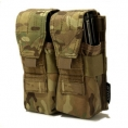 SOLO ATP MOLLE Double Rifle Mag Pouch - Thumbnail 01 - Camouflage Store