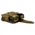 SOLO ATP MOLLE Double Rifle Mag Pouch - Thumbnail 02 - Camouflage Store