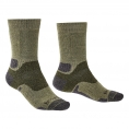 Bridgedale Hike Midweight Socks (Green) - Thumbnail 01<