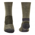 Bridgedale Hike Midweight Socks (Green) - Thumbnail 02